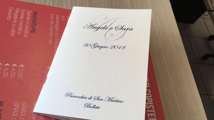 Libretti Matrimonio Rito Romano : Libretti messa e menù fai da te forum matrimonio