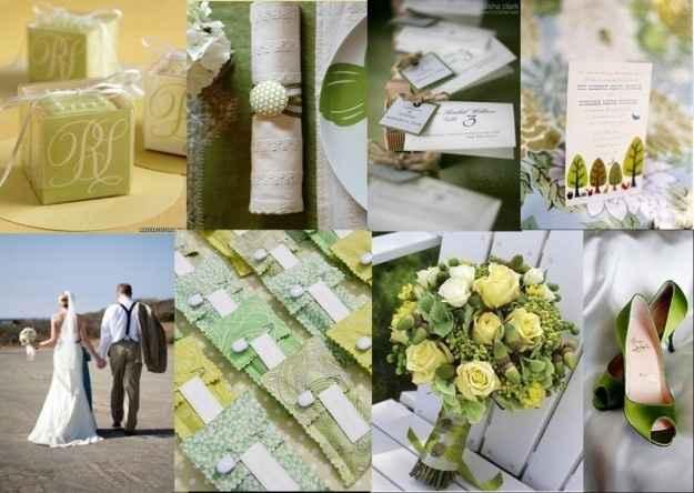 Idee matrimonio in verde 4
