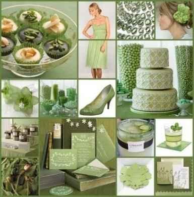 Idee matrimonio in verde 6