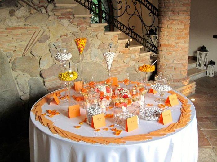 Decorazioni Matrimonio Arancione : Gli allestimenti i dettagli del nostro matrimonio arancio