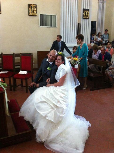 Matrimonio In Chiesa Vale Anche Civilmente : Luglio il marco e la vale ieri sposi página neo