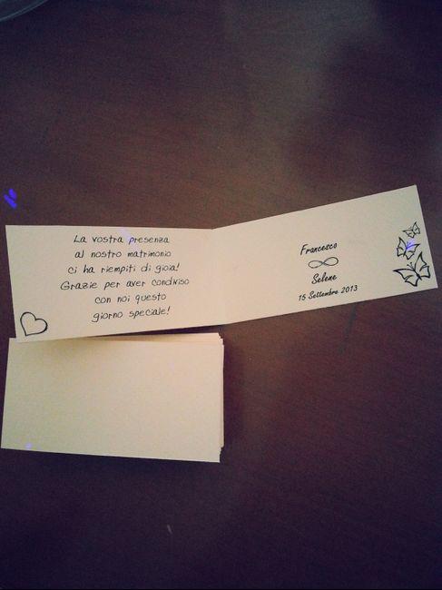 bigliettini bomboniere
