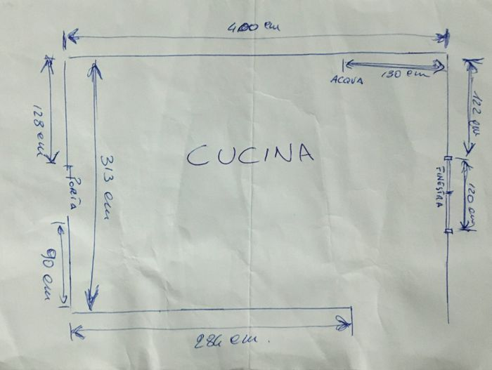 Composizione cucina 1