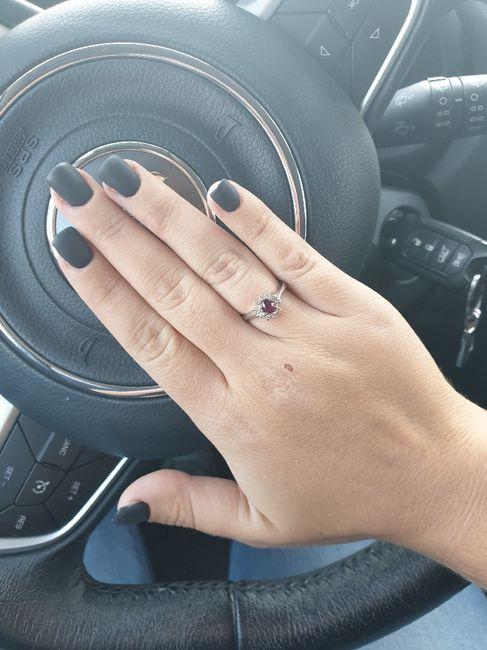 fede nuziale e anello di Fidanzamento. 4