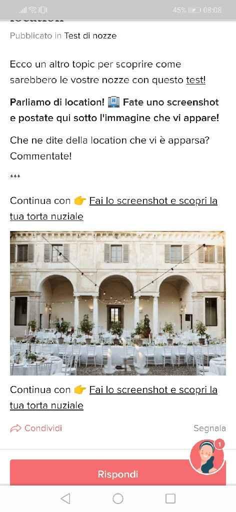Fai lo screenshot e scopri la tua location - 1