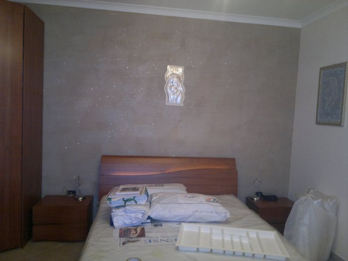 La mia camera foto prima delle nozze for Pittura vento di sabbia
