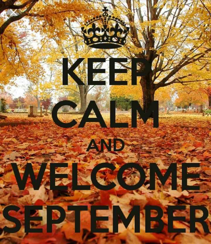 Welcome settembre - 1