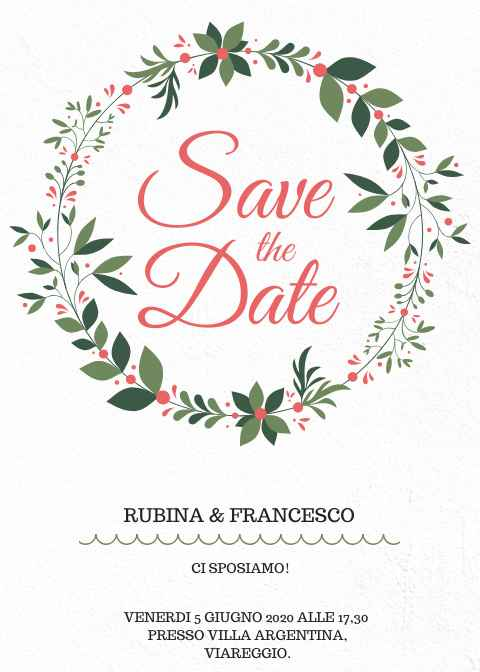 Save The Date 💜 - 1