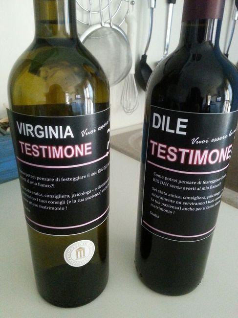 Popolare Etichette personalizzate bottiglie vino - Fai da te - Forum  EG05