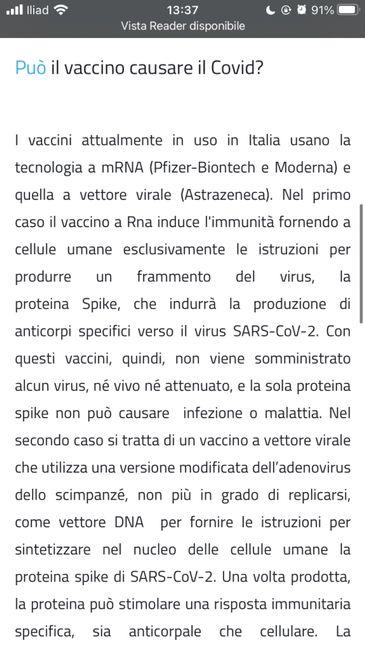 Falsi positivi e vaccini - Aiuto! 1