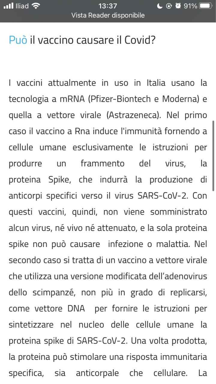 Falsi positivi e vaccini - Aiuto! - 1