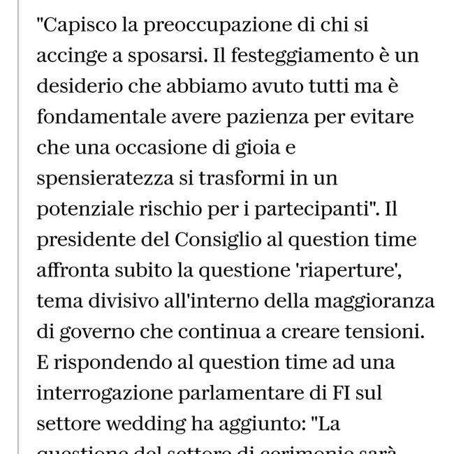 News Matrimonio 1
