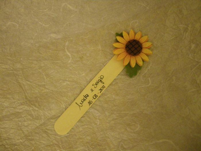 Tavolo Matrimonio Girasoli : Segnatavoli con qualcosa di girasole organizzazione