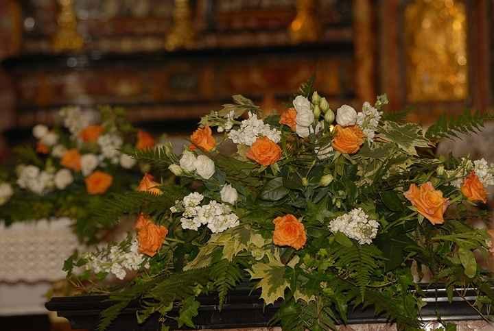 fiori in chiesa