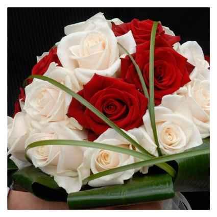 Bouquet Bianco rosso