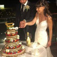 noi e la vwedding cake! bella e buona!