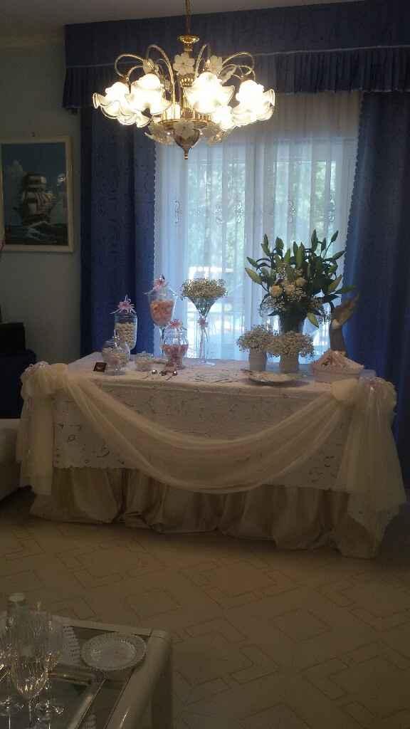 Tavolo casa sposa - 1