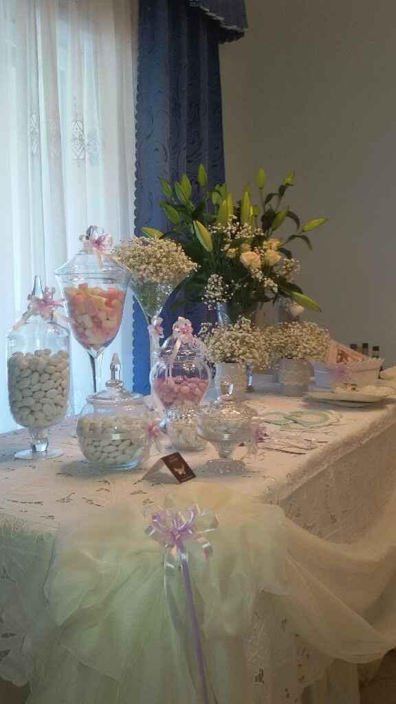 Tavolo casa sposa - 2