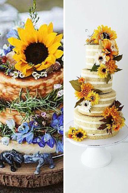 Torte Matrimonio Girasoli : Torta nuziale girasoli organizzazione matrimonio forum