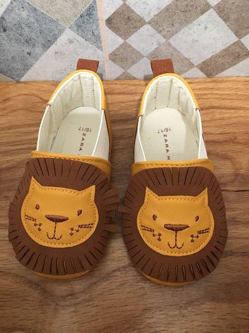 Taglia scarpe neonato 3