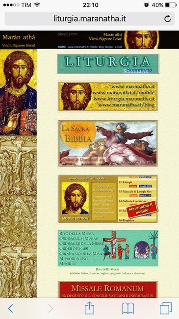Calendario Liturgico Maranatha.Letture Cerimonia Nuziale Forum Matrimonio Com