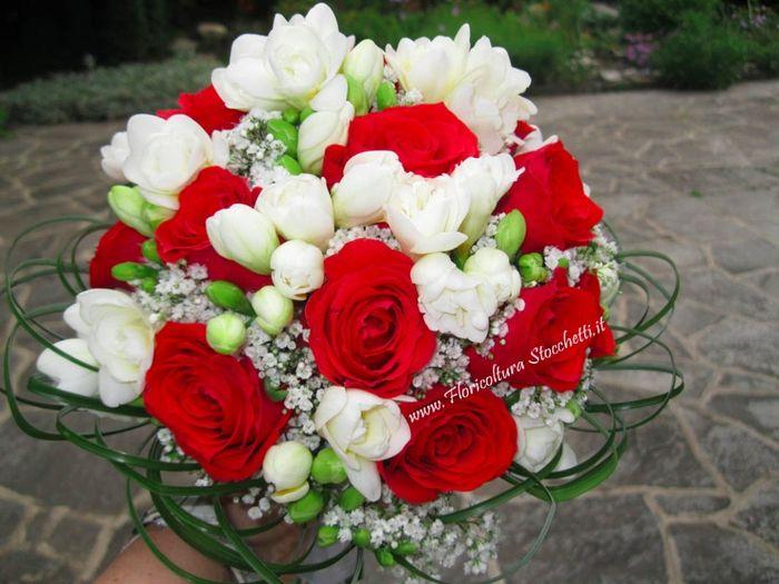 Matrimonio In Rosso E Bianco : Bianco e rosso foto moda nozze