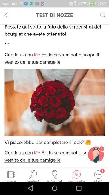 Fai lo screenshot e scopri il tuo bouquet 31