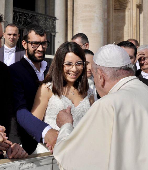 Udienza papale- 6 Novembre 2019 1