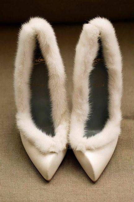 Spose invernali - le scarpe! 3