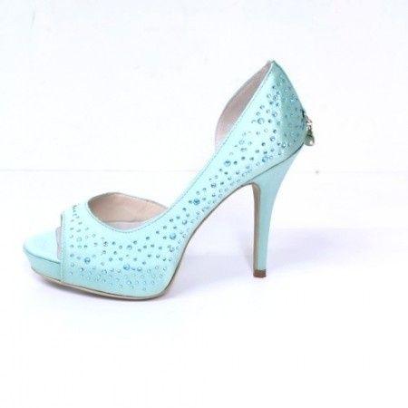 scarpe color tiffany on line