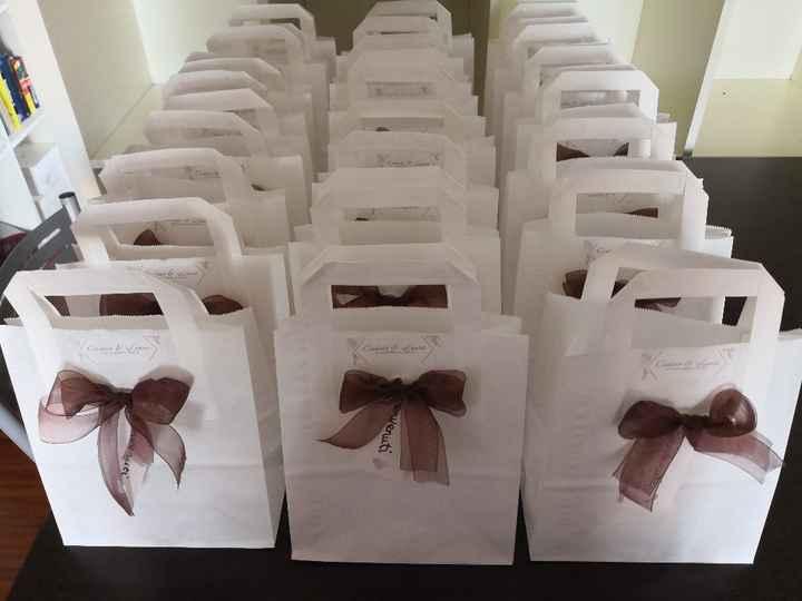 Wedding bag (quasi) finite! - 1
