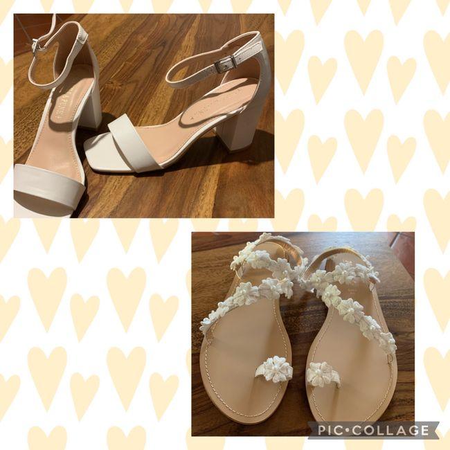 Cambio scarpe 1