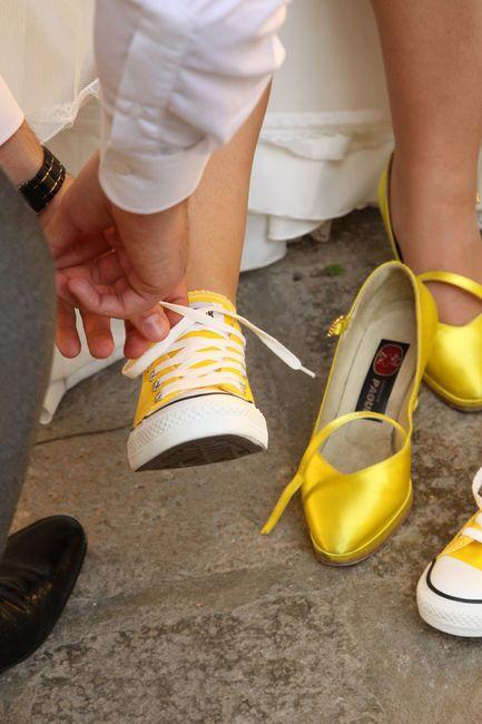 scegli genuino prezzo migliore autentico Matrimonio in giallo - i nostri dettagli! - Neo-spose ...