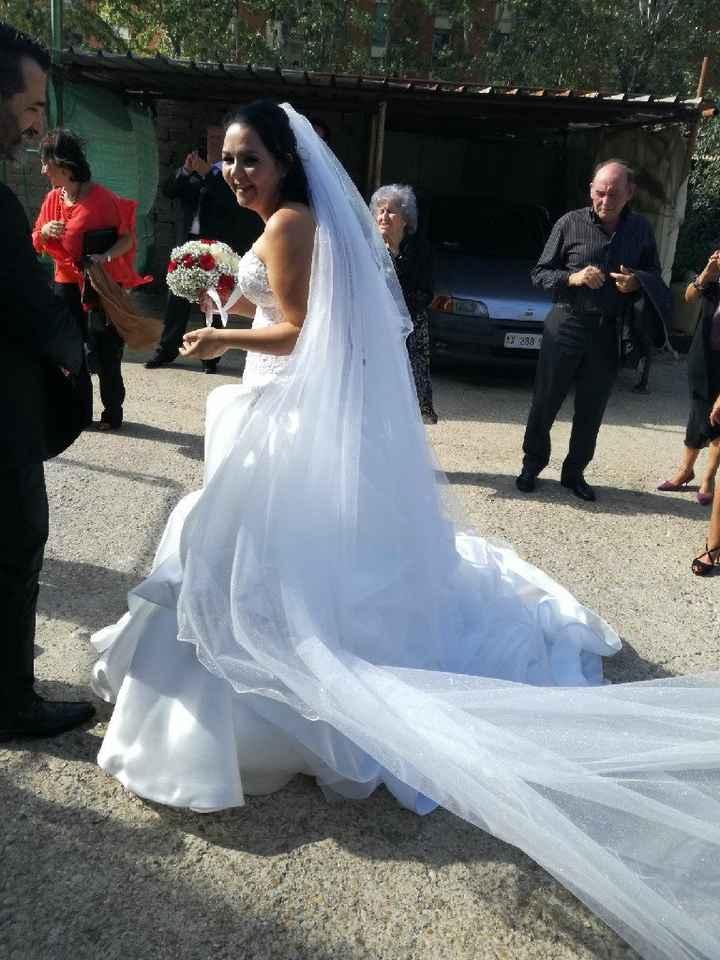 Differenza abito da sposa bianco e avorio - 1