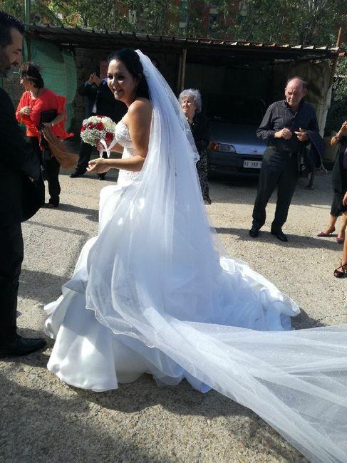 Differenza abito da sposa bianco e avorio 1
