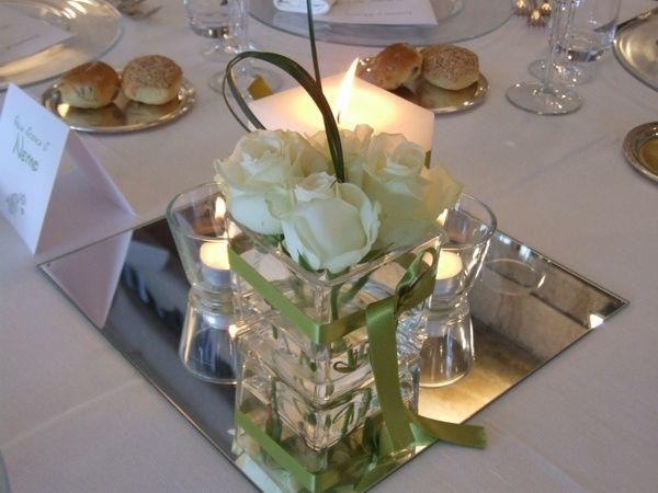 Scegliere il centro tavola che fatica ricevimento di for Centrotavola matrimonio candele