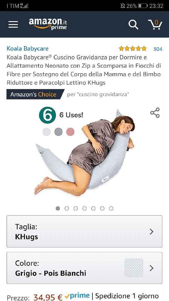 Cuscino gravidanza - 1