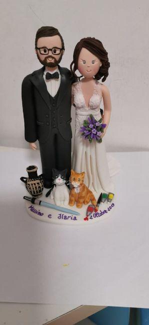 Il nostro cake topper! - 1