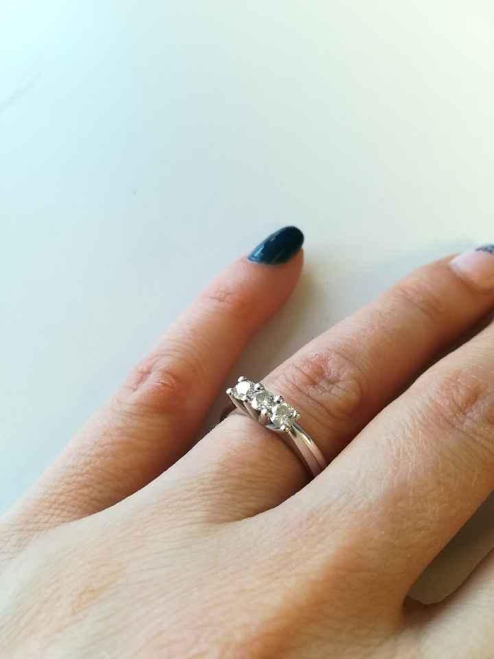 Anello fidanzamento - 1