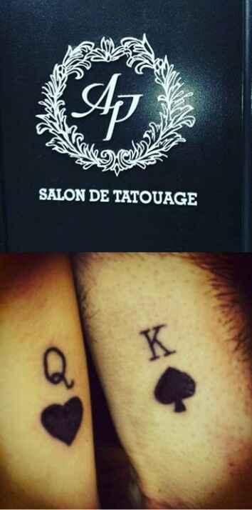Avete tatoo con i vostri  fm 😘❤️ - 1