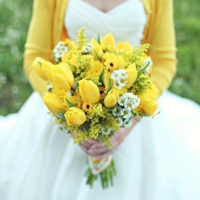 Bouquet giallo qual è il vostro preferito? 2
