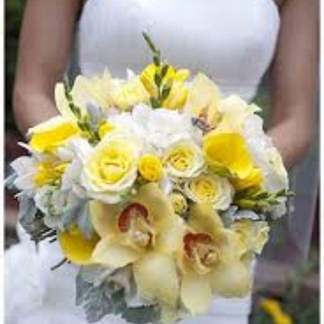 Bouquet giallo qual è il vostro preferito? 3