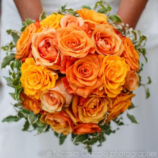 Bouquet arancione, quale preferite? 1