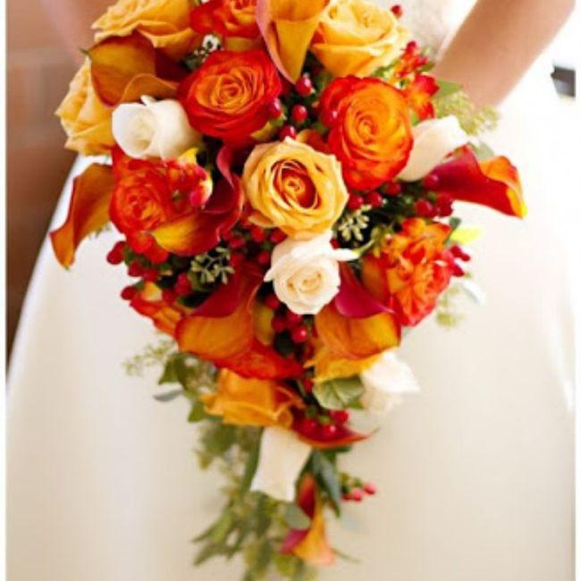 Bouquet arancione, quale preferite? 2