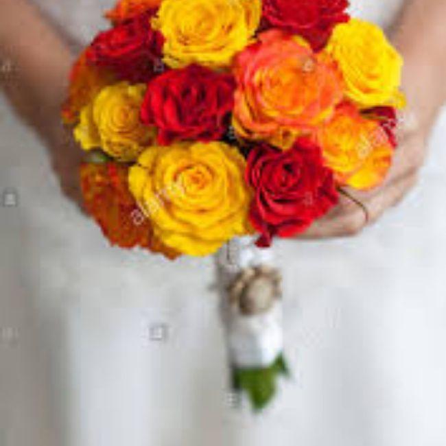 Bouquet arancione, quale preferite? 3