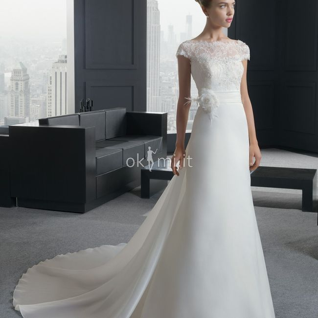 Abiti da sposa a maniche corte oppure più lunghe? 1