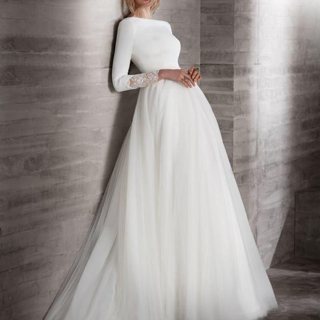 Abiti da sposa a maniche corte oppure più lunghe? 3