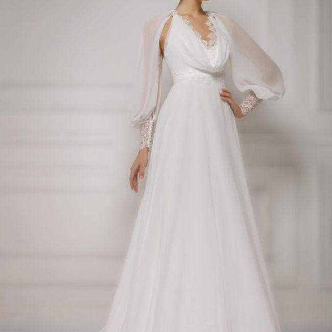 Abiti da sposa a maniche corte oppure più lunghe? 5