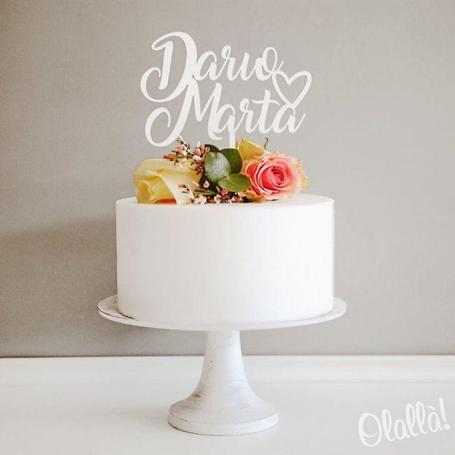 Topper Cake:tra questi quali preferite? 3