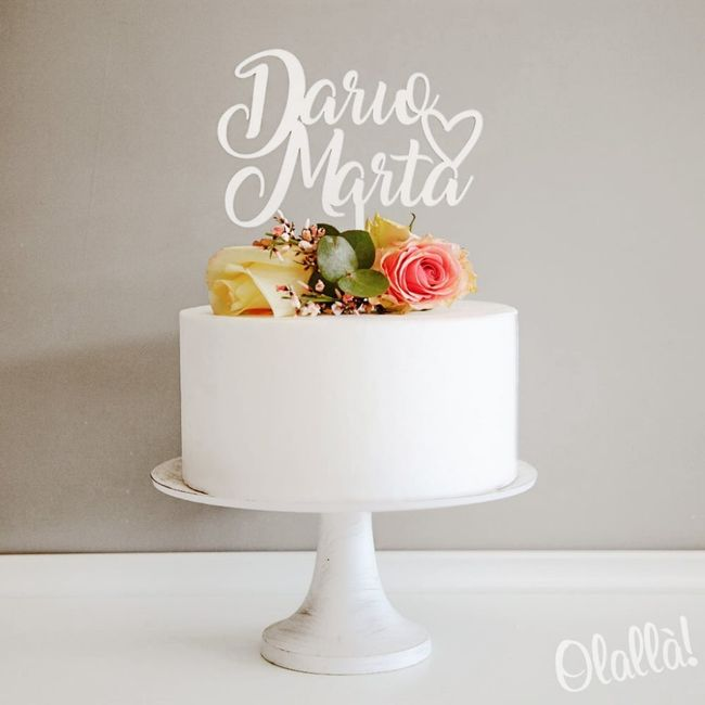 Topper Cake:tra questi quali preferite? 6